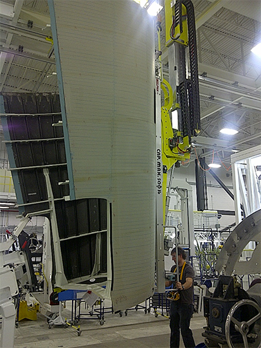 Manipulateur de fuselage